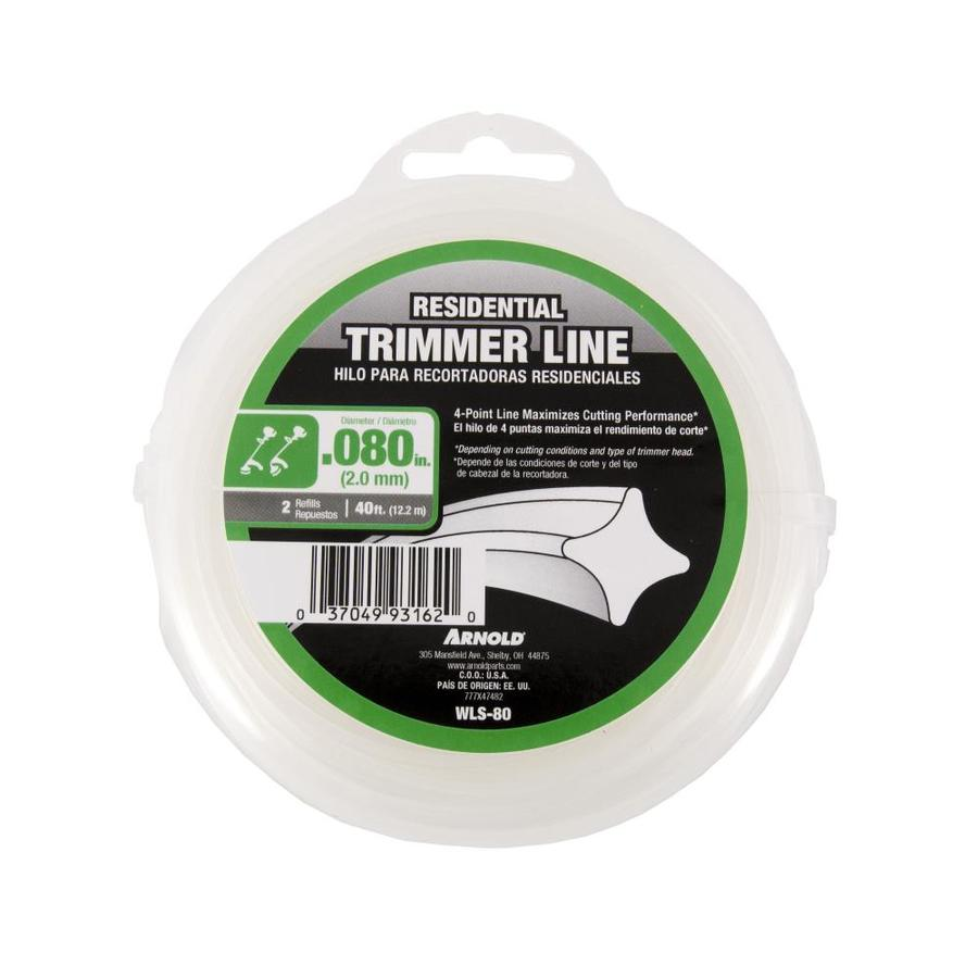 Arnold 40-ft Spool 0.08-in Spooled Trimmer Line