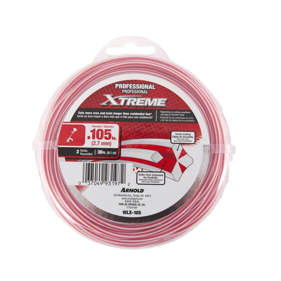 Arnold 30-ft Spool 0.105-in Trimmer Line
