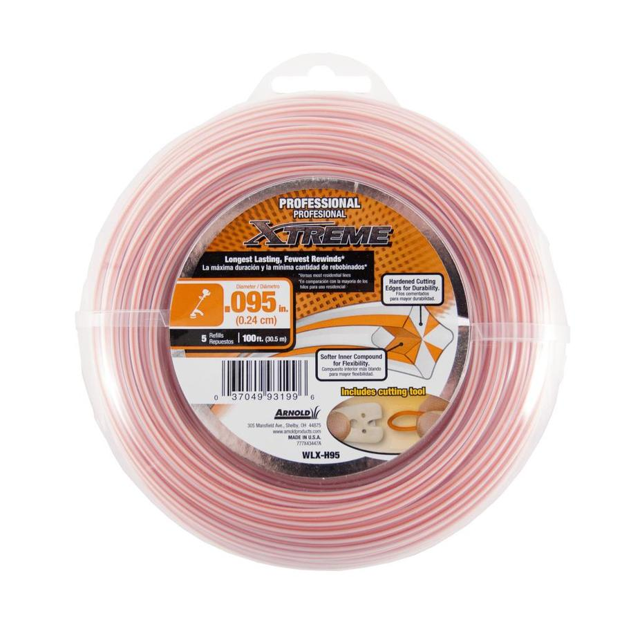 Arnold 100-ft Spool 0.095-in Spooled Trimmer Line