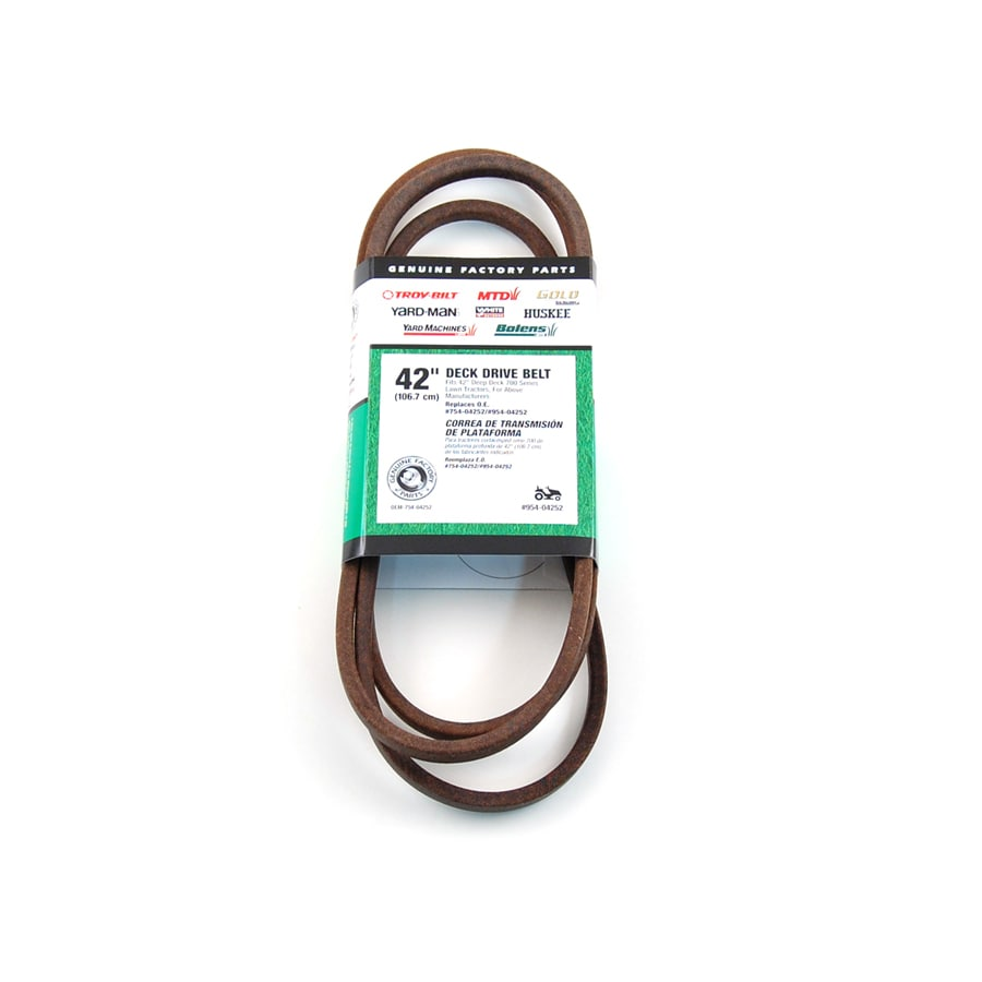 MTD Genuine Parts 42-in Deck/Drive Belt for Riding Lawn Mowers