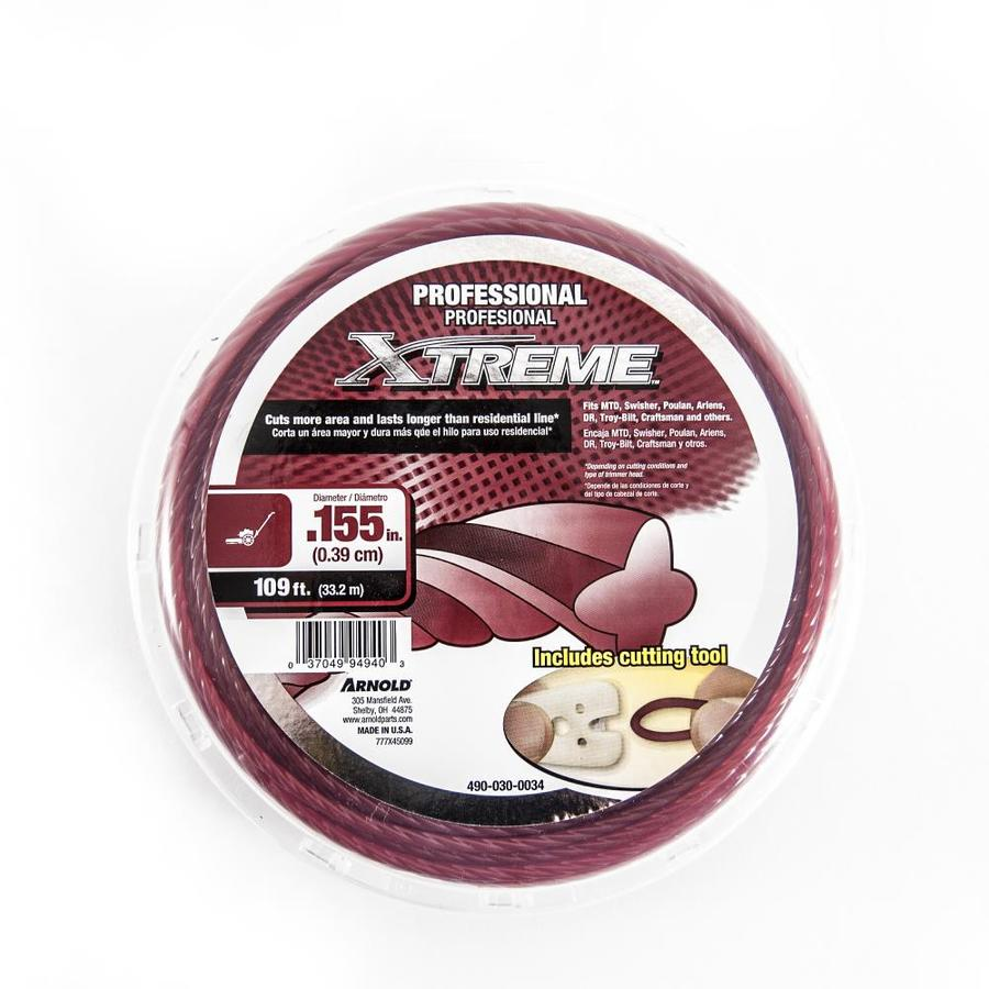 Arnold 109-ft Spool 0.155-in Trimmer Line