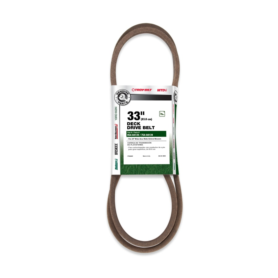 Troy-Bilt Deck/Drive Belt for Walk-Behind Mowers