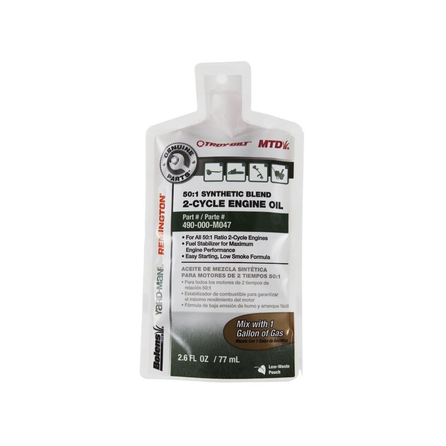 MTD Genuine Parts 2.6-oz 2-Cycle Synthetic Blend Engine Oil