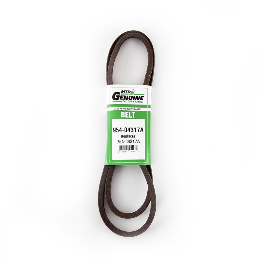 MTD Genuine Parts Multiple Sizes Drive Belt for Riding Lawn Mowers