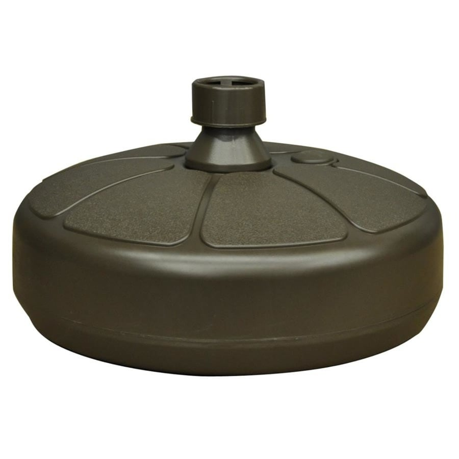 Adams Mfg Corp Earth Brown Patio Umbrella Base At Lowes Com
