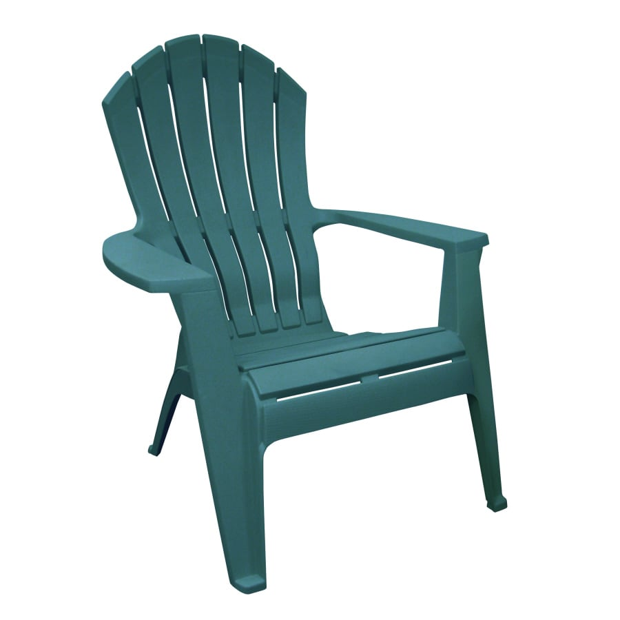 Adams Mfg Corp Hunter Green Resin Stackable Patio Adirondack Chair