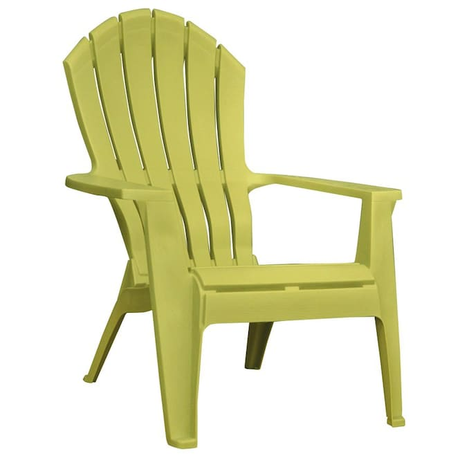 Adams Mfg Corp Green Resin Stackable Patio Adirondack Chair In The Patio Chairs Department At Lowes Com