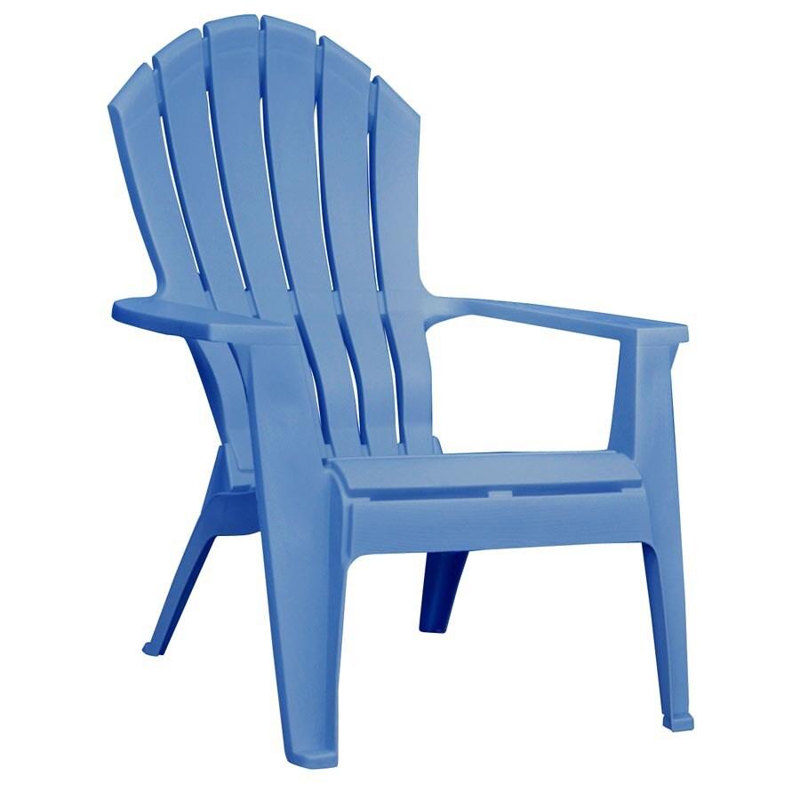 Adams Mfg Corp Blue Adirondack Chair