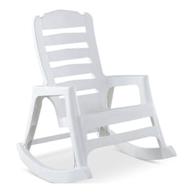 Adams Mfg Corp Plastic Rocking Chair(s) with Solid Seat