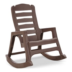 adams mfg corp stackable resin rocking chair - Patio Rocking Chairs