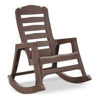 Adams Mfg Corp Stackable Plastic Rocking Chair with Solid Seat Deals