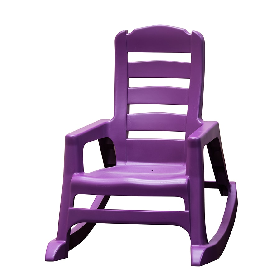Adams Mfg Corp Kids Stackable Resin Rocking Chair At Lowes Com