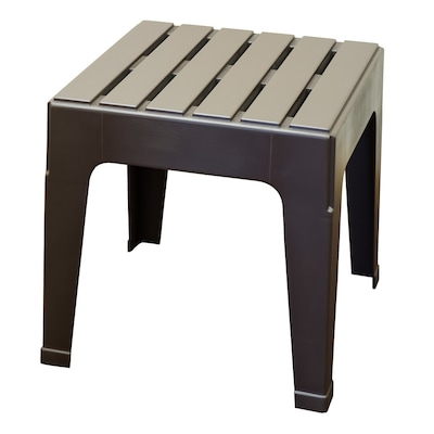 huge selection of f1354 24ba9 Big Easy Square End Table 18.9-in W x 18.9-in L