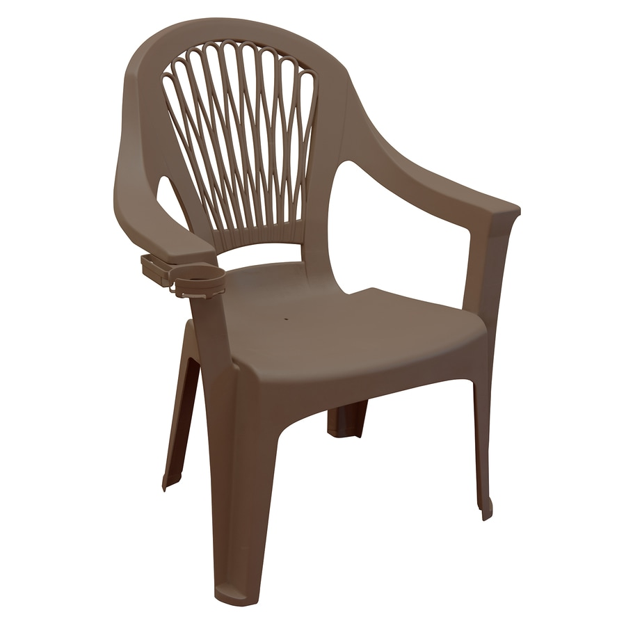Adams Mfg Corp Stackable Plastic Dining Chair At Lowes Com