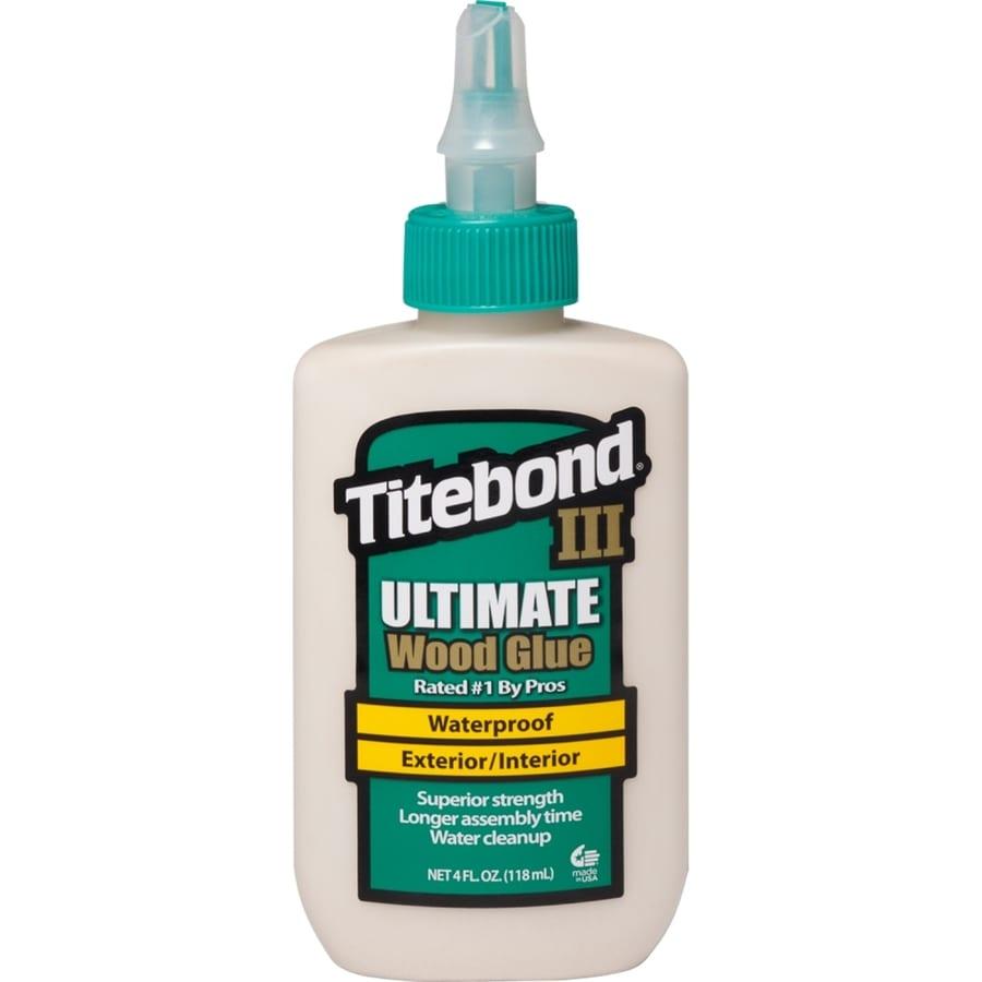 Titebond Brown Interior/Exterior Wood Adhesive (Actual Net Contents: 4-fl oz.)