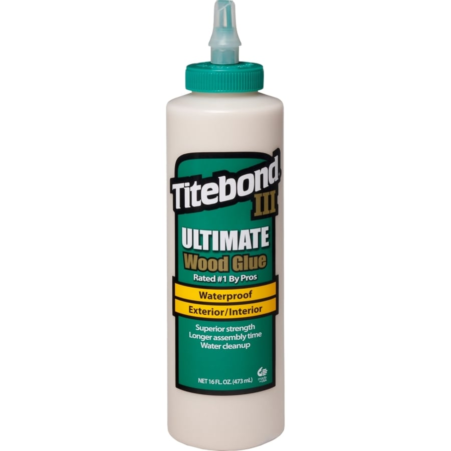 Titebond Brown Interior/Exterior Wood Adhesive (Actual Net Contents: 16 Fluid Oz.)