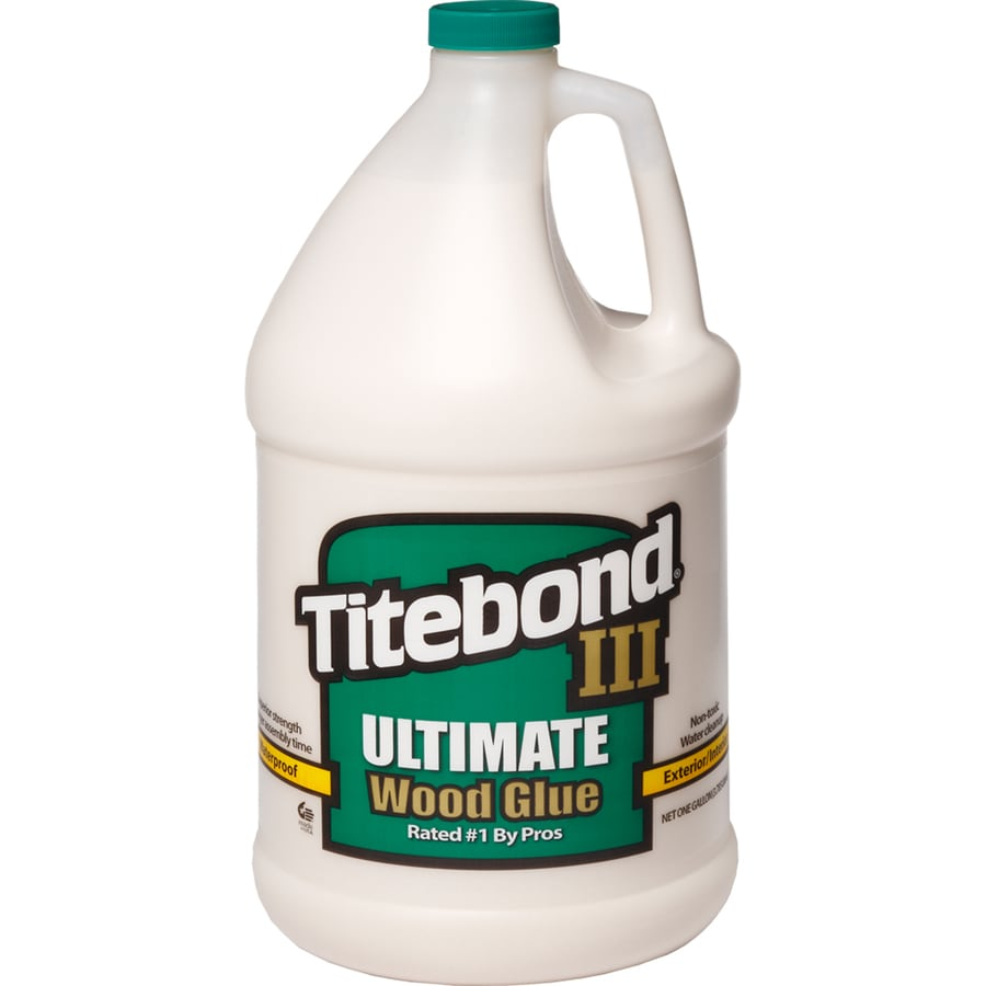 Titebond Brown Interior/Exterior Wood Adhesive (Actual Net Contents: 128 Fluid Oz.)