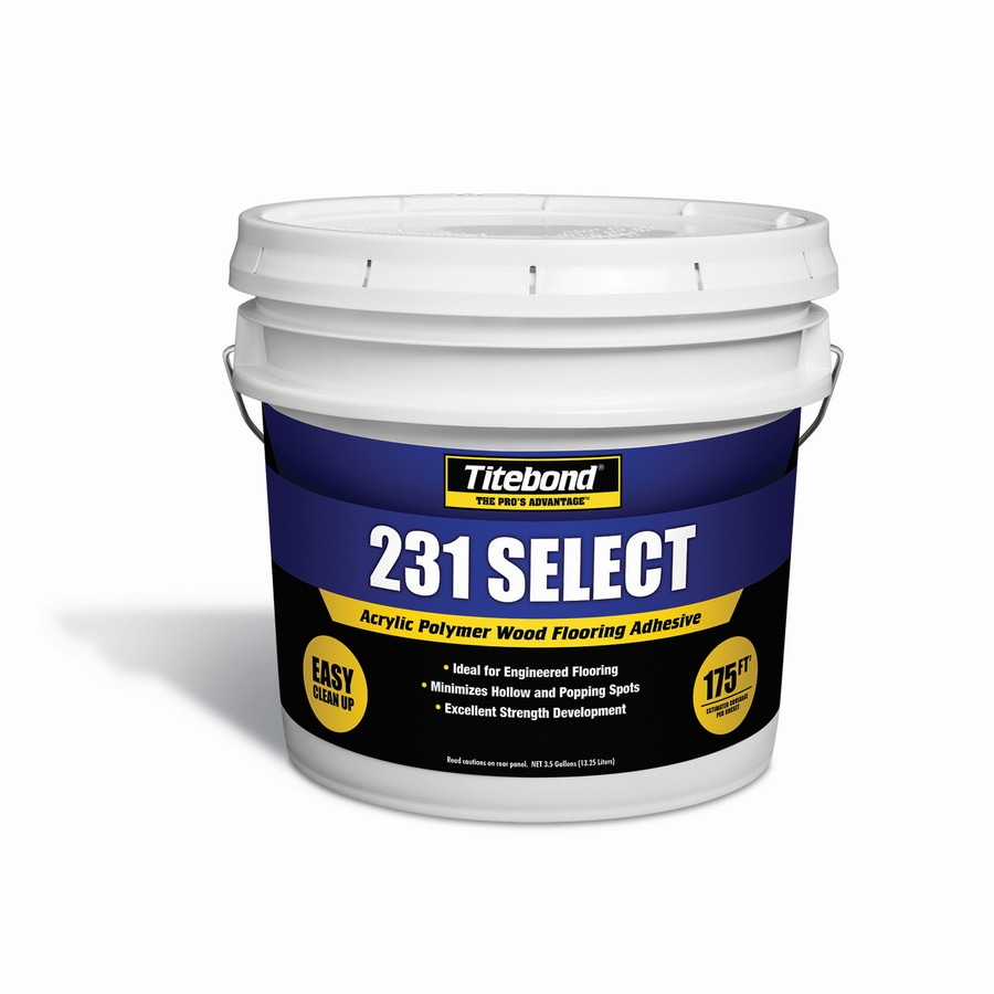 Titebond Off-White Flooring Adhesive (3.5-Gallon)