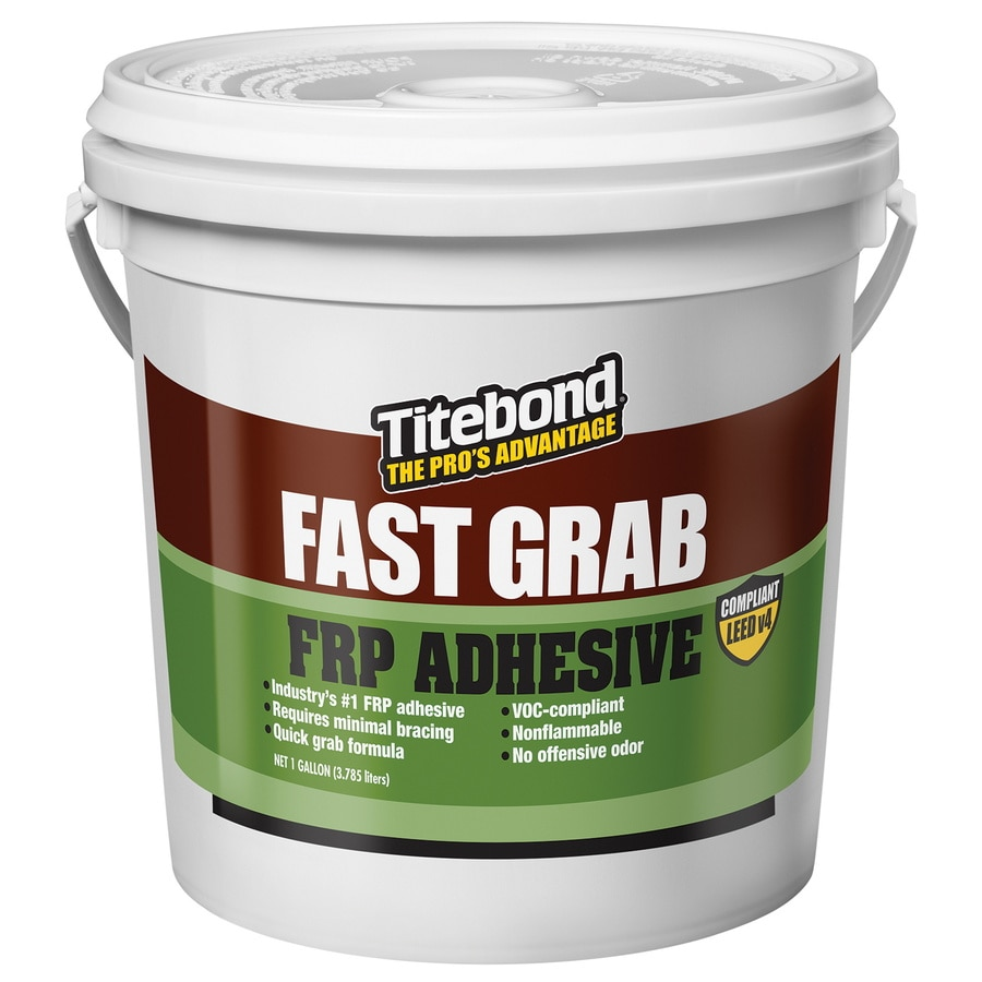 Titebond Greenchoice Brown Interior Frp Construction Adhesive (Actual Net Contents: 128-fl oz)