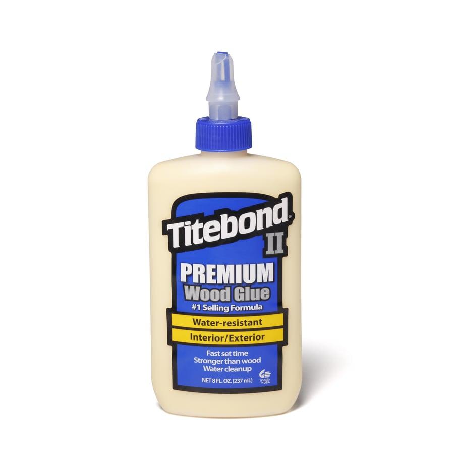 Titebond Yellow Interior/Exterior Wood Adhesive (Actual Net Contents: 8 Fluid Oz.)