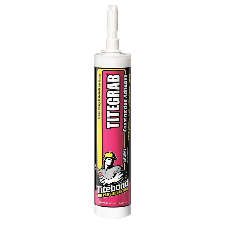 shop titebond white mastic flooring adhesive 9 5 fl oz at. Black Bedroom Furniture Sets. Home Design Ideas