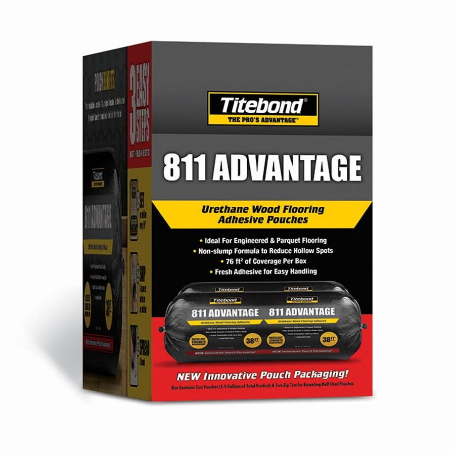 Titebond Brown Flooring Adhesive (1.5-Gallon)