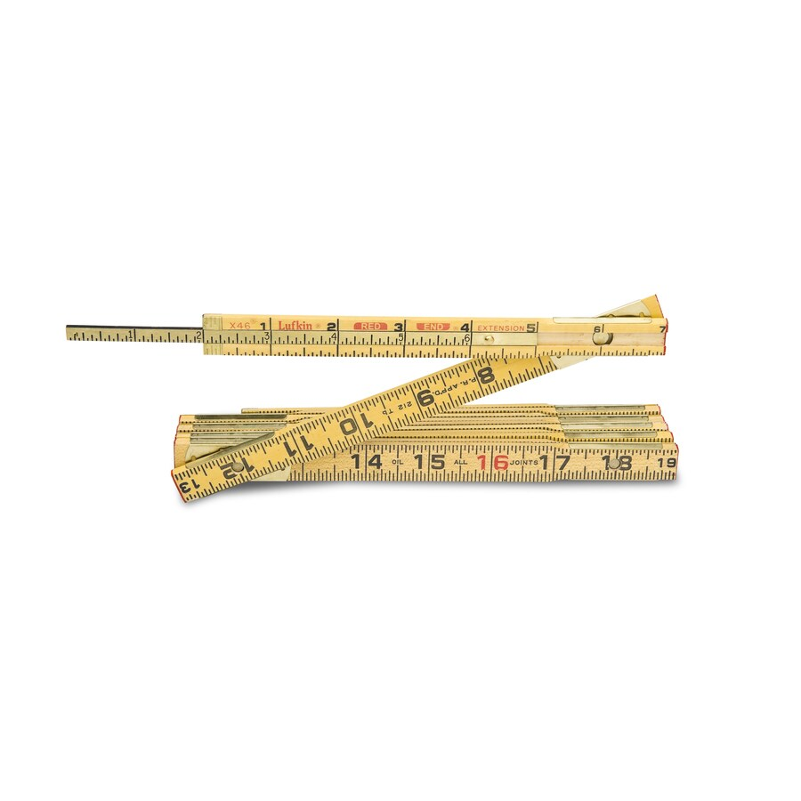 Lufkin 6-ft Wood Folding Ruler