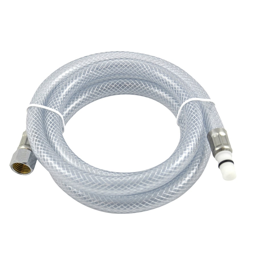 shop danco 48 in ft vinyl faucet spray hose at lowes