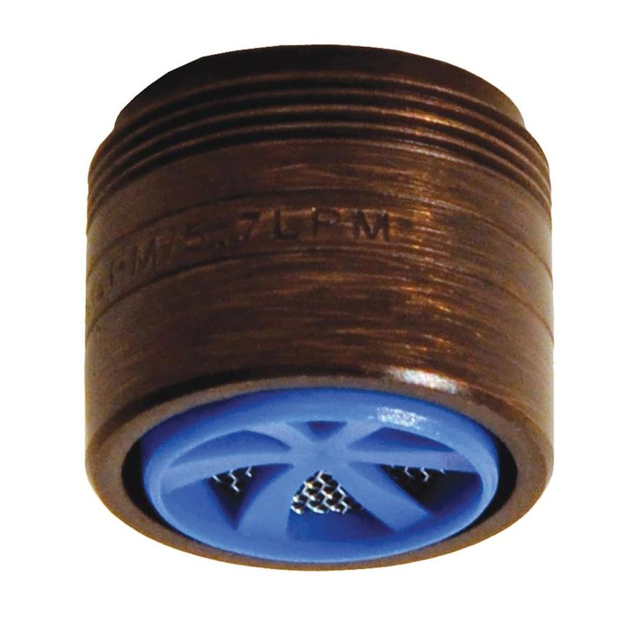 Danco 15/16-in x 27 Thread x 55/64-in x 27 Thread Bronze Water-Saving Aerator