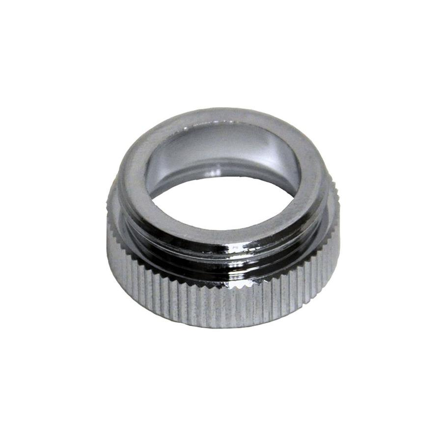 Danco 55/64-in-27M x 13/16-in-24F Chrome Standard Adapter