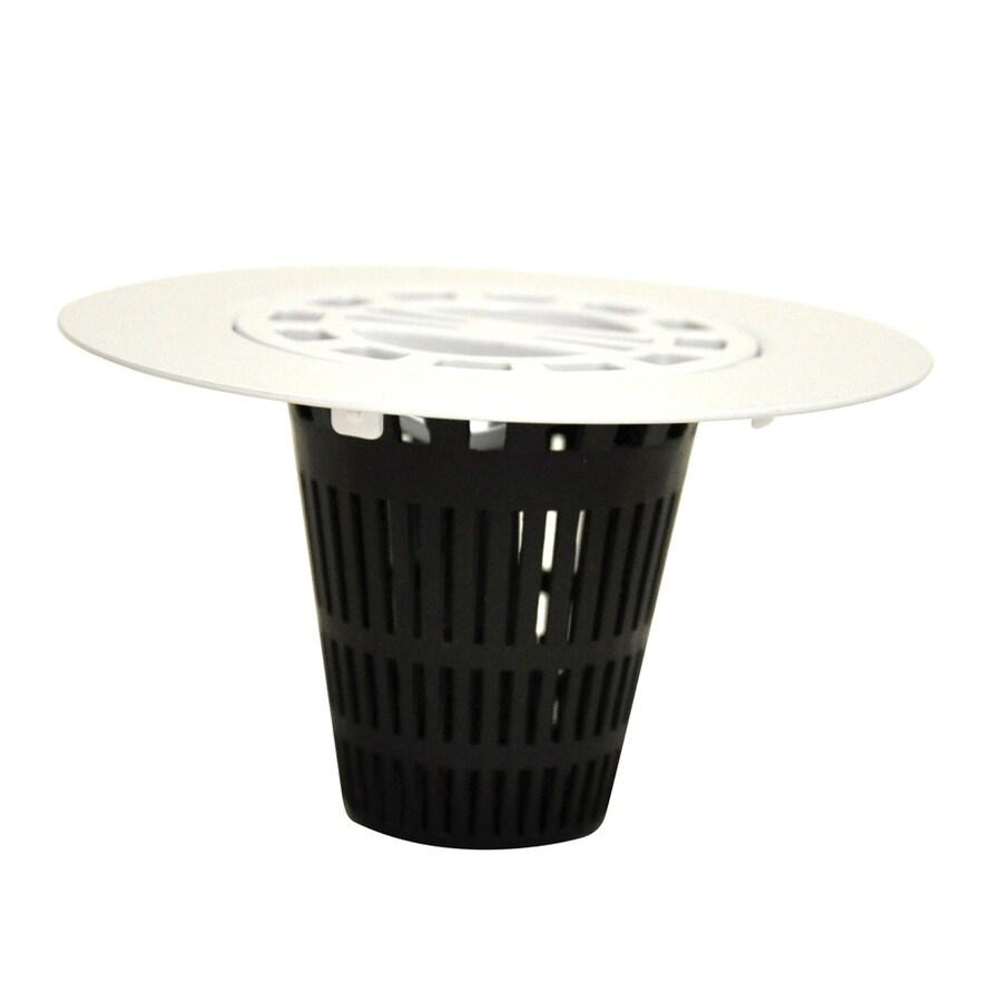 Danco White Plastic Drain Cover