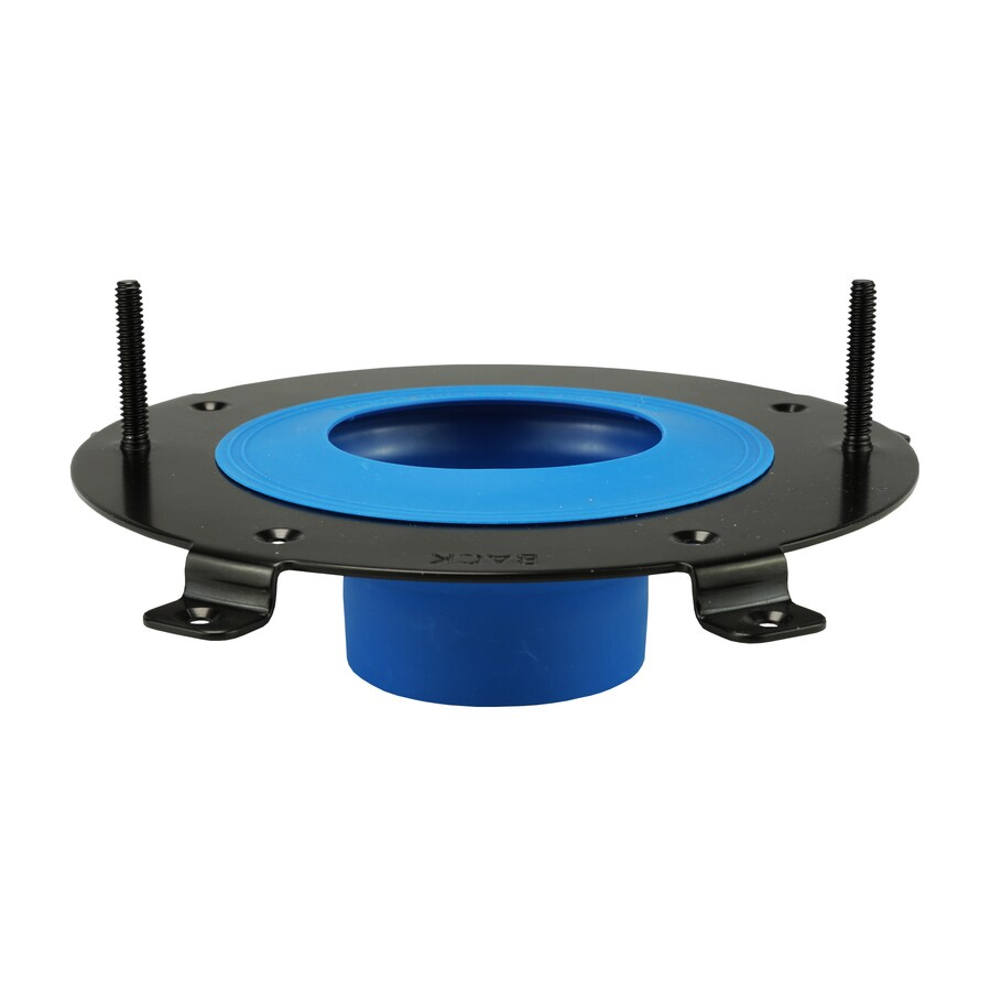 Danco HydroSeat 6.88-in Blue Stainless Steel Toilet Flange