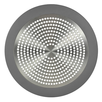 5 75 In Tile Drain Round Stainless Steel Strainer