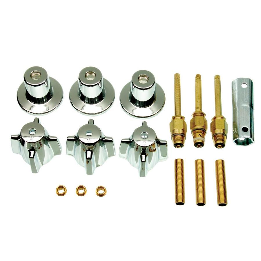 Danco 3-Handle Metal Tub/Shower Repair Kit For Central Brass