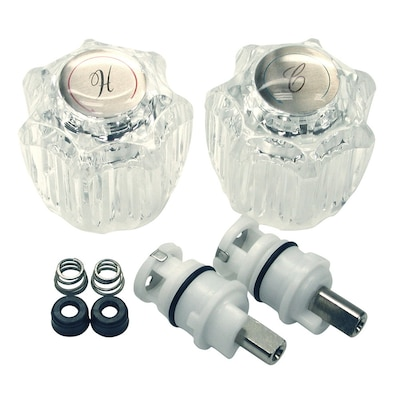 Swell Danco 2 Handle Metal Faucet Repair Kit For Delta Delex At Interior Design Ideas Tzicisoteloinfo