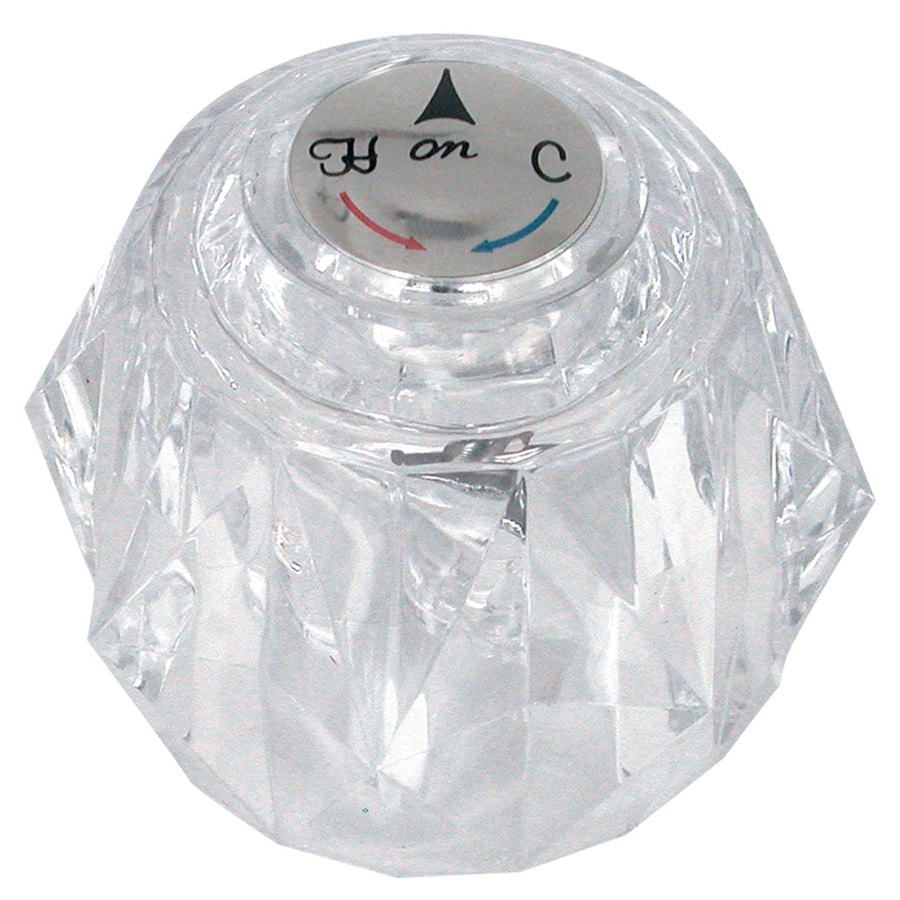 Bathroom Shower Knobs: Shop Danco Clear Acrylic Knob Shower Handle At Lowes.com