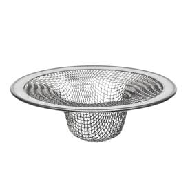 Kitchen Sink Strainer Shop kitchen sink strainers strainer baskets at lowes danco 45 in stainless steel mesh kitchen sink strainer basket workwithnaturefo
