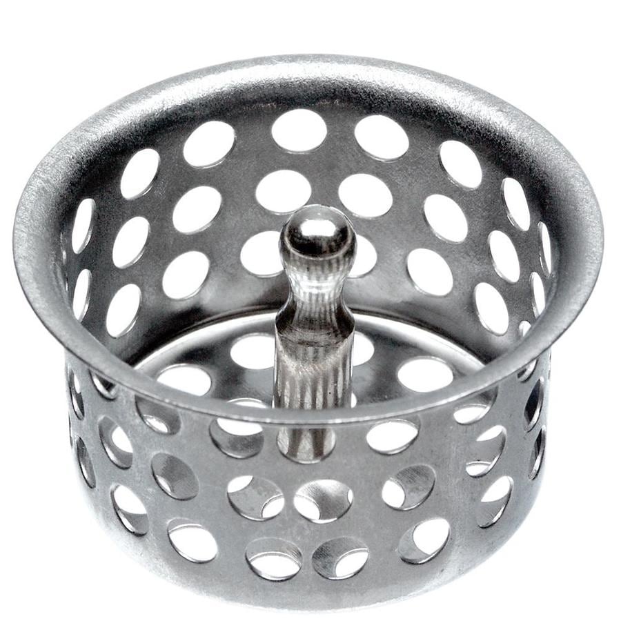 Danco 1.875-in Chrome Stainless Steel Kitchen Sink Strainer Basket