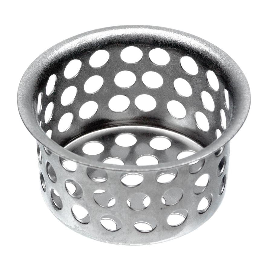 Https Www Lowes Com Pd Danco 1 5 In Chrome Stainless Steel Kitchen Sink Strainer Basket 3380214