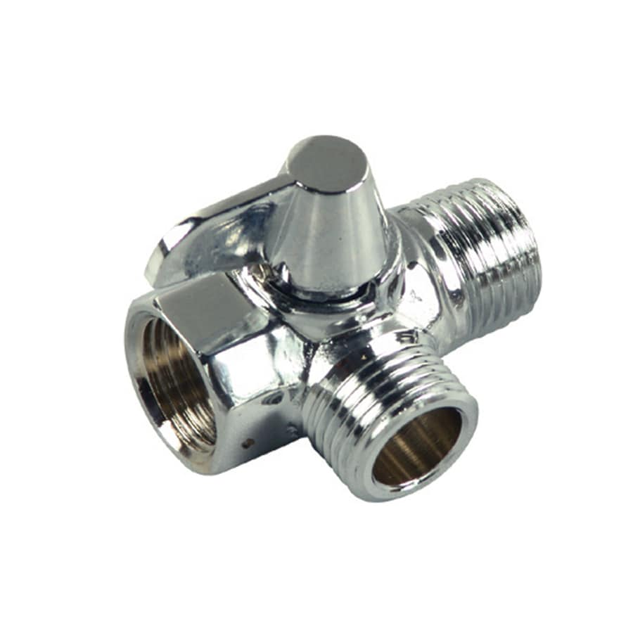 Danco Chrome Quarter-Turn 3-Way Valve