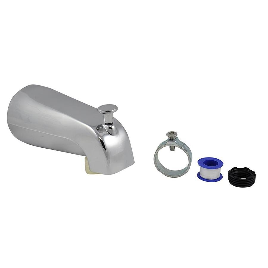 Shop Danco Chrome Tub Spout with Diverter at Lowes.com