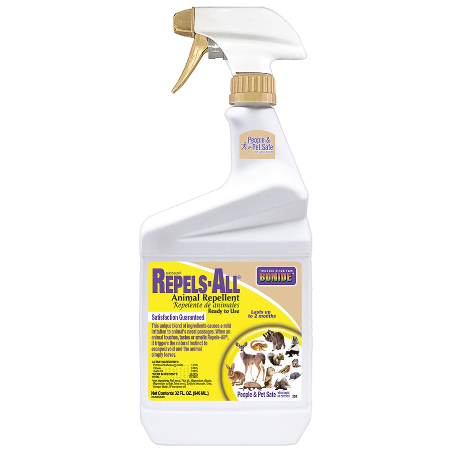 Shop Bonide Repels All 32 Fl Oz Animal Repellent At Lowes Com