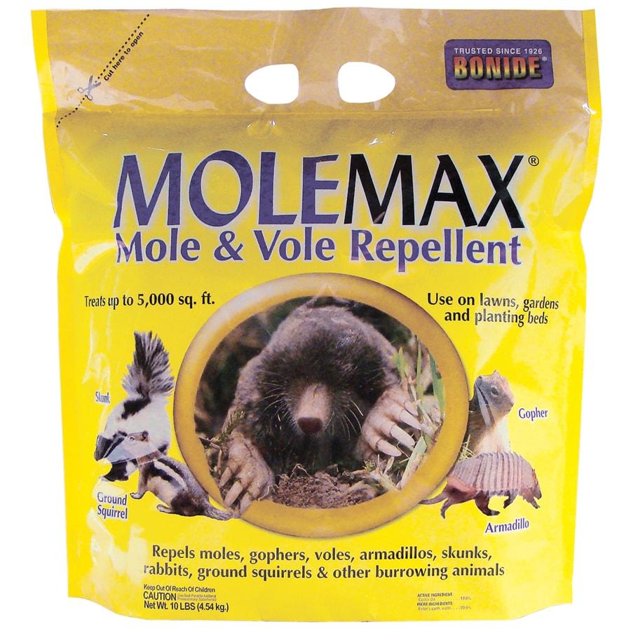 Bonide Molemax 10 Lb Granules Mole And Vole Repellent