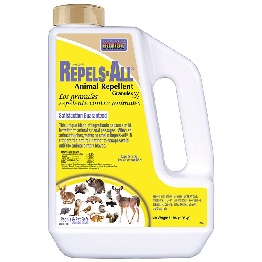 Repels-All 3-lb Granules Pour Bottle Animal Repellent