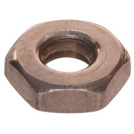 The Hillman Group 2079 Brass Hex Machine Screw Nut 6-32 90-Pack