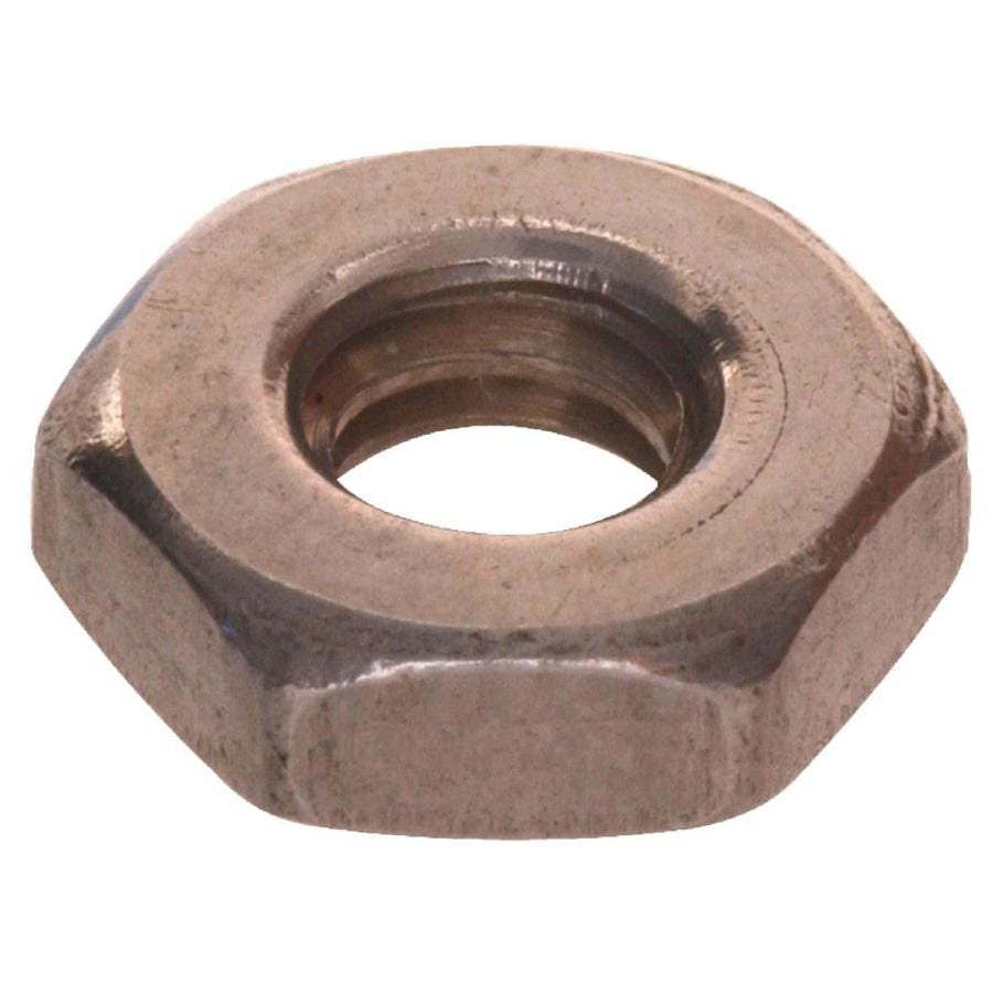 The Hillman Group 10-Count 1/4-in Stainless Steel Standard (SAE) Hex Nuts