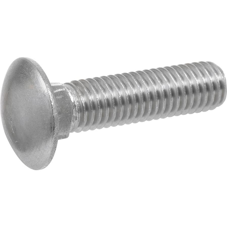 Hillman 1 Count 5/16-in x 2-in Stainless Steel Carriage Bolt