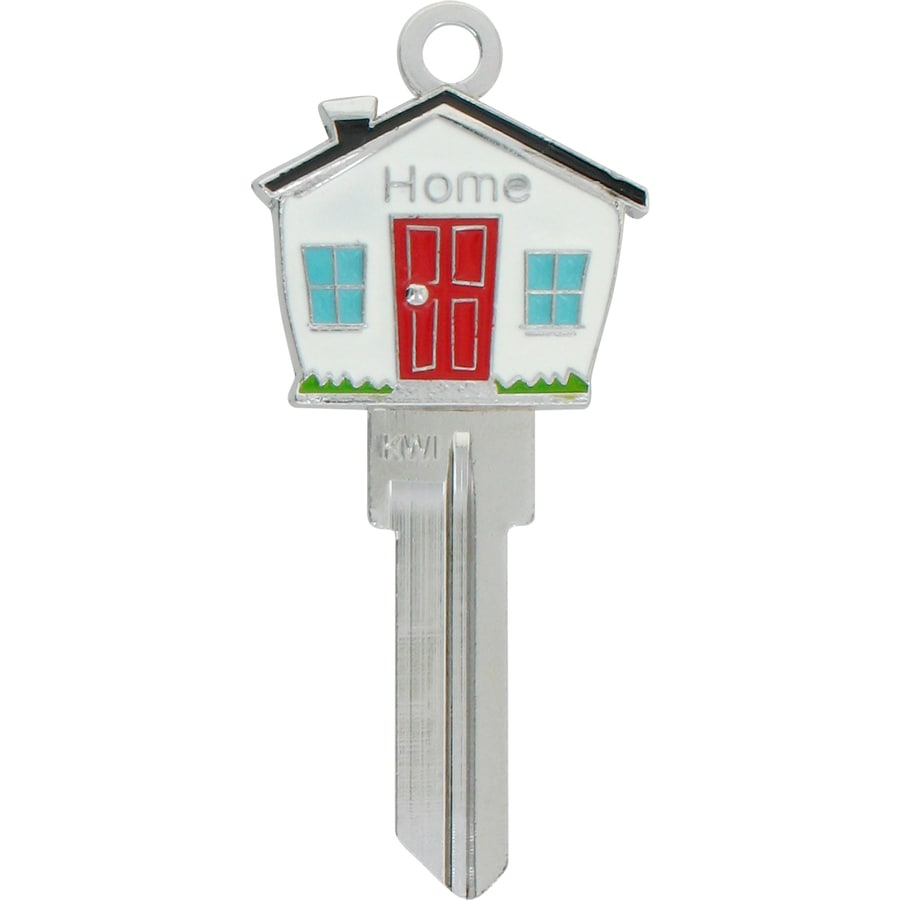 Shop Hillman Brass House/Entry Key Blank at Lowes.com