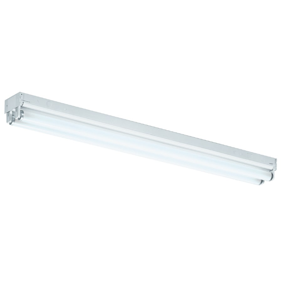 Shop Utilitech 48-3/8-in Utility Fluorescent Lighting At
