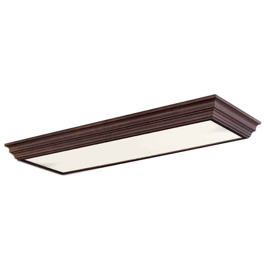 Portfolio Flush Mount Fluorescent Light ENERGY STAR Common: 4ft; Actual: 51.75in at Lowes.com